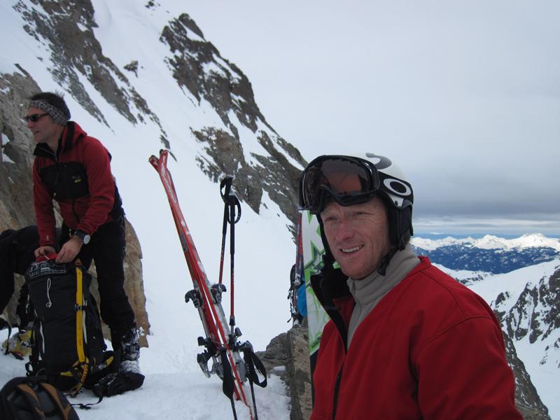 Jakob Hertz skitouring